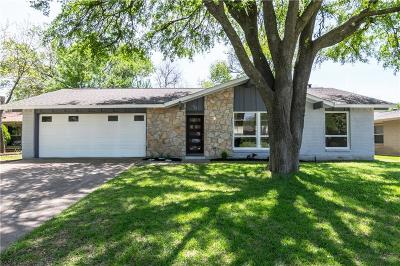 Richardson Single Family Home Active Option Contract: 919 Pinecrest Drive
