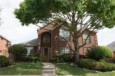 Plano Single Family Home Active Contingent: 4113 Camrose Drive