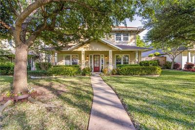 Dallas Single Family Home Active Option Contract: 9030 Diceman Drive