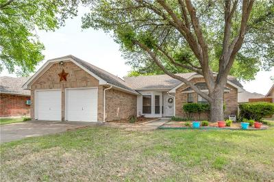 North Richland Hills Single Family Home Active Option Contract: 6712 Richfield Drive