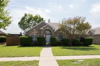 Frisco Single Family Home Active Option Contract: 7313 David Drive