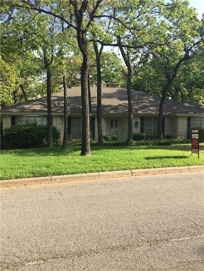 Euless Single Family Home Active Option Contract: 210 Walnut Way