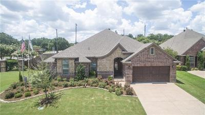 Weatherford Single Family Home Active Contingent: 1201 Thistle Hill Trail
