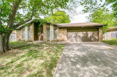 Euless Single Family Home Active Option Contract: 502 Dickey Drive
