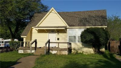 Plano Single Family Home Active Option Contract: 1112 G Avenue