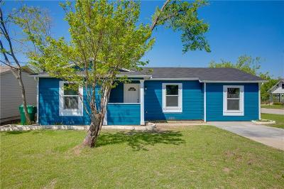 Denton Single Family Home Active Option Contract: 1702 Westwood Drive