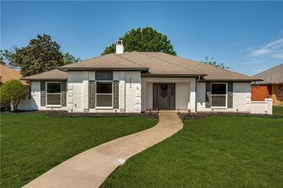 Carrollton Single Family Home Active Option Contract: 2905 Mesquite Drive