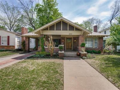 Single Family Home Active Option Contract: 2313 Irwin Street