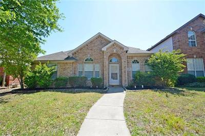 Allen Single Family Home For Sale: 1618 Woodstream Lane