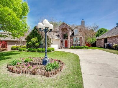 Rockwall Single Family Home Active Option Contract: 3066 Wildflower Way