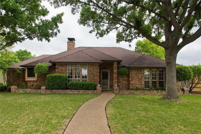 Allen Single Family Home For Sale: 1603 Clearbrook Drive