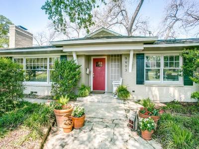 Dallas Single Family Home For Sale: 9403 Vinewood Drive
