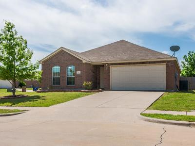 Anna TX Single Family Home Active Option Contract: $205,000