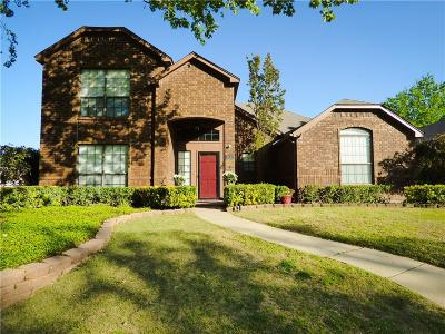 Rowlett Single Family Home Active Option Contract: 3512 Lilac Lane