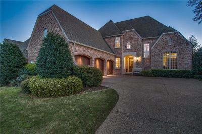 Allen Single Family Home For Sale: 1813 San Leanna Drive