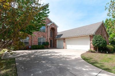 Keller Single Family Home Active Option Contract: 1208 Cumberland Drive