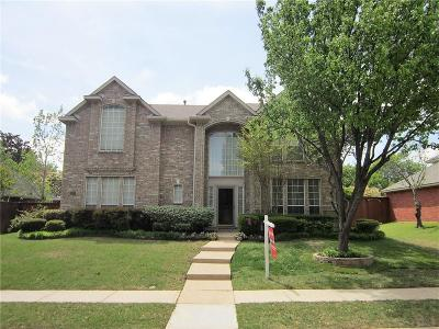 Plano Single Family Home Active Option Contract: 2237 Amy Lane