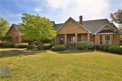 Abilene Single Family Home For Sale: 8241 Saddle Creek Road