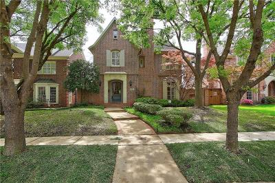 University Park Single Family Home For Sale: 4065 Stanford Avenue