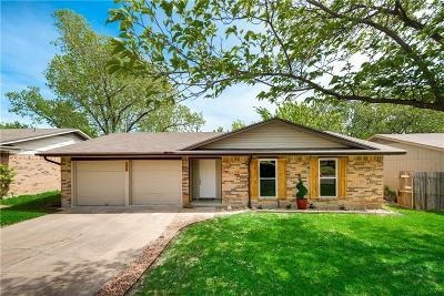 Mesquite Single Family Home Active Contingent: 1618 Spring Lake Drive