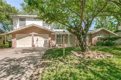 Hurst Single Family Home Active Option Contract: 404 Holder Drive