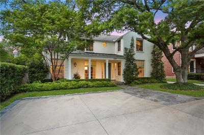 Dallas Single Family Home For Sale: 6819 Gaston Avenue