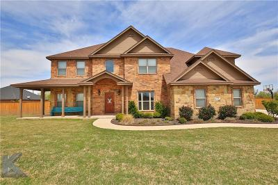 Abilene Single Family Home For Sale: 118 Prairie Creek Way