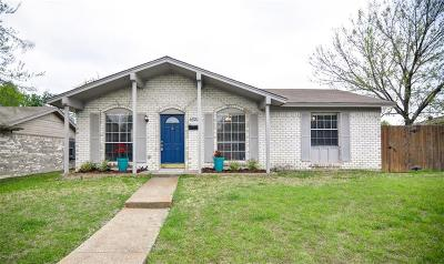 Garland Single Family Home Active Option Contract: 1622 Morrison Drive