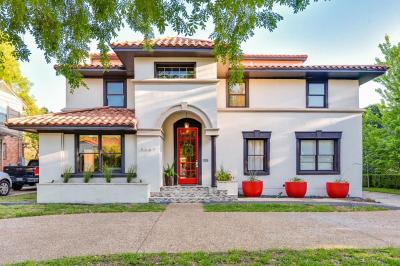 Highland Park Single Family Home For Sale: 4669 Mockingbird Lane