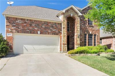 Little Elm Single Family Home For Sale: 2653 Calmwater Drive