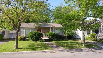 Dallas Single Family Home For Sale: 6023 Goodwin Avenue