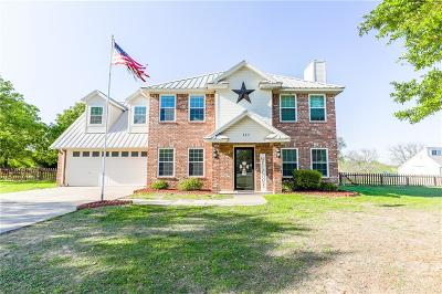 Weatherford Single Family Home Active Option Contract: 117 Kristi Way