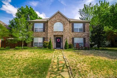 Plano Single Family Home Active Option Contract: 4332 Jeker Drive