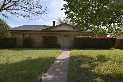 Garland Single Family Home Active Option Contract: 1929 Meridian Way