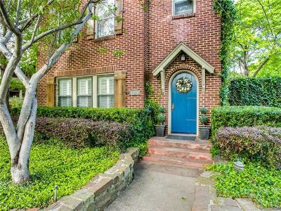 Dallas Single Family Home For Sale: 1123 N Clinton Avenue