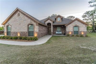 Azle Single Family Home Active Option Contract: 142 Antler Ridge Court