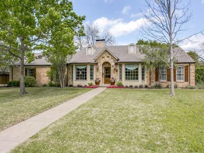 Dallas Single Family Home For Sale: 5619 Northmoor Drive
