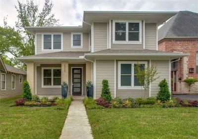 Dallas Single Family Home For Sale: 6030 Llano Avenue