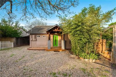 Dallas Single Family Home Active Option Contract: 1722 Lakeland Drive