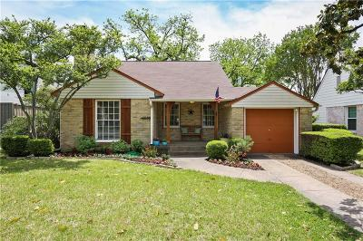 Dallas Single Family Home For Sale: 6030 Revere Place
