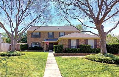 Flower Mound Single Family Home Active Option Contract: 1541 River Birch Drive