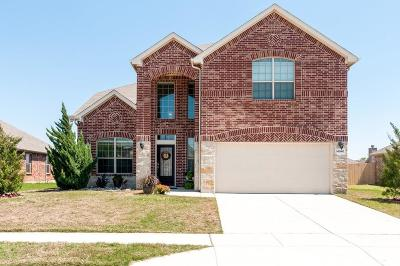 Haslet Single Family Home Active Contingent: 14040 Rodeo Daze Drive