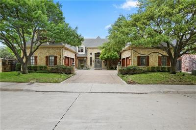 Allen, Dallas, Frisco, Plano, Prosper, Addison, Coppell, Highland Park, University Park, Southlake, Colleyville, Grapevine Single Family Home For Sale: 12219 Pecan Forest Drive