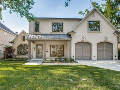 Dallas Single Family Home For Sale: 5521 Southwestern Boulevard