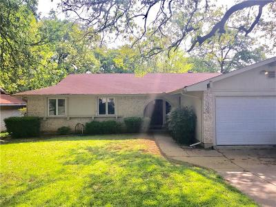 Euless Single Family Home Active Option Contract: 1208 Shady Hollow