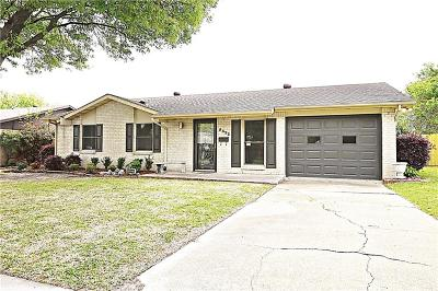 Garland Single Family Home Active Option Contract: 5322 Robin Road
