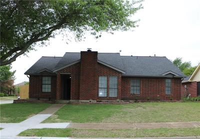 Rowlett Single Family Home Active Option Contract: 6701 Trumpet Drive