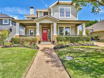 McKinney Single Family Home Active Option Contract: 7100 Queen Anne Drive