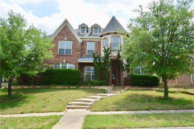 Garland Single Family Home Active Contingent: 1818 Red Cedar Trail