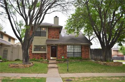 Carrollton Single Family Home Active Option Contract: 4324 Harvest Hill Road